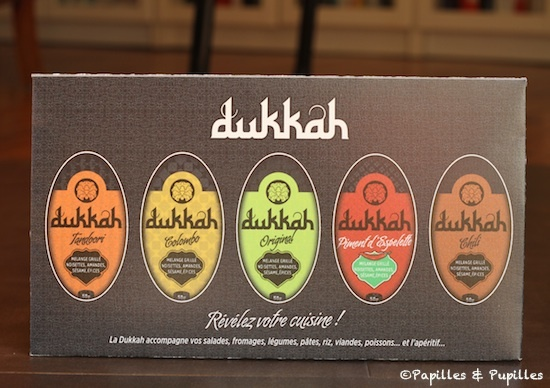 Dukkah - Différentes variétés