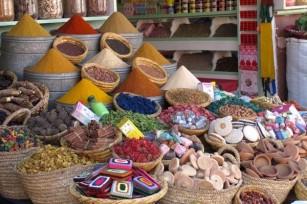Epices, souks, Marrakech