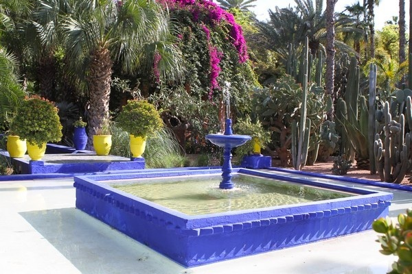 le jardin majorelle marrakech. Black Bedroom Furniture Sets. Home Design Ideas