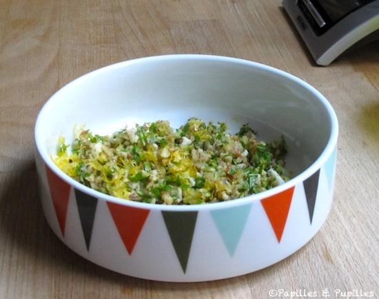 Gremolata pour risotto