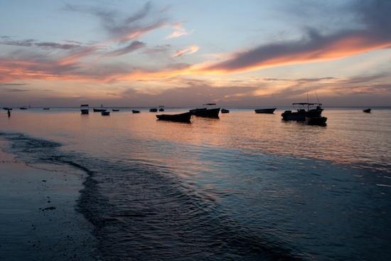 Ile Maurice - coucher de soleil