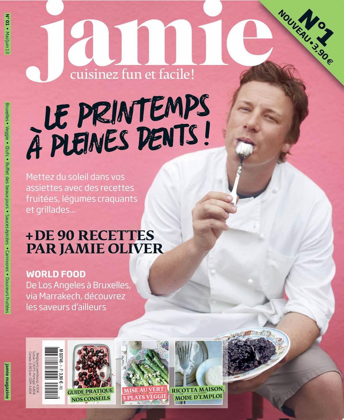 Jamie Oliver Magazine en France