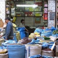 Marchands d epices, Marrakech