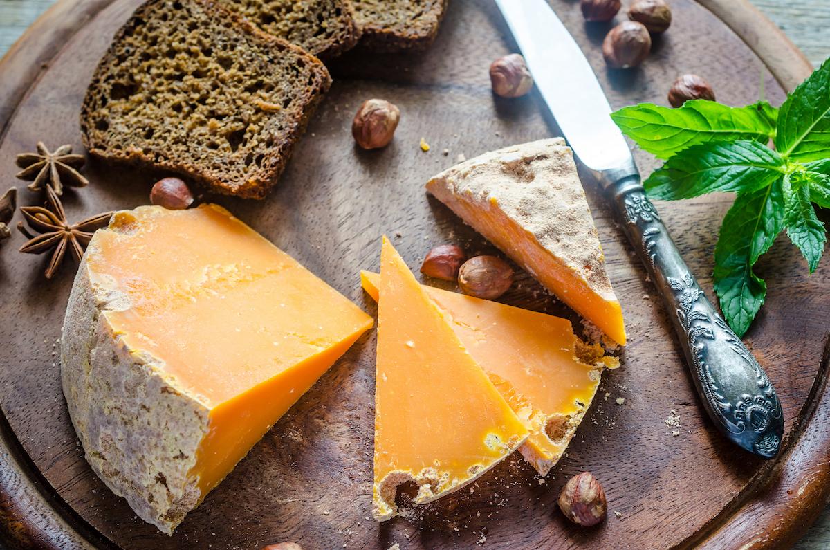 Mimolette (c) Alexpro9500 (c) Shutterstock