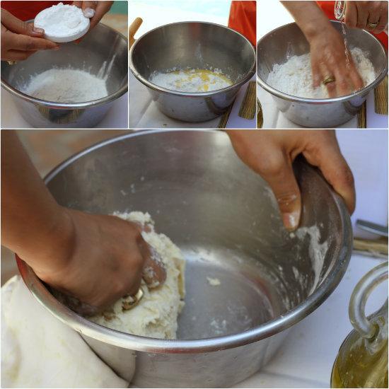Préparez la pâte