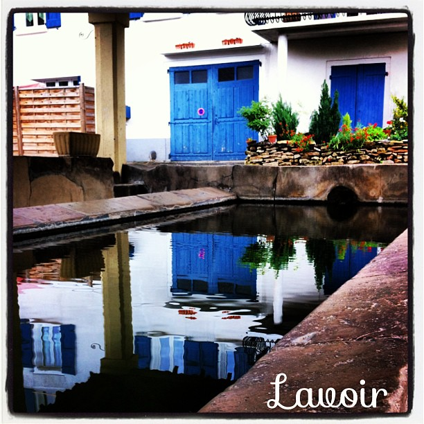 Lavoir, Saint Rome de Tarn, Aveyron