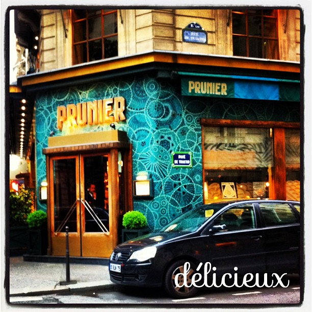 Prunier, Paris