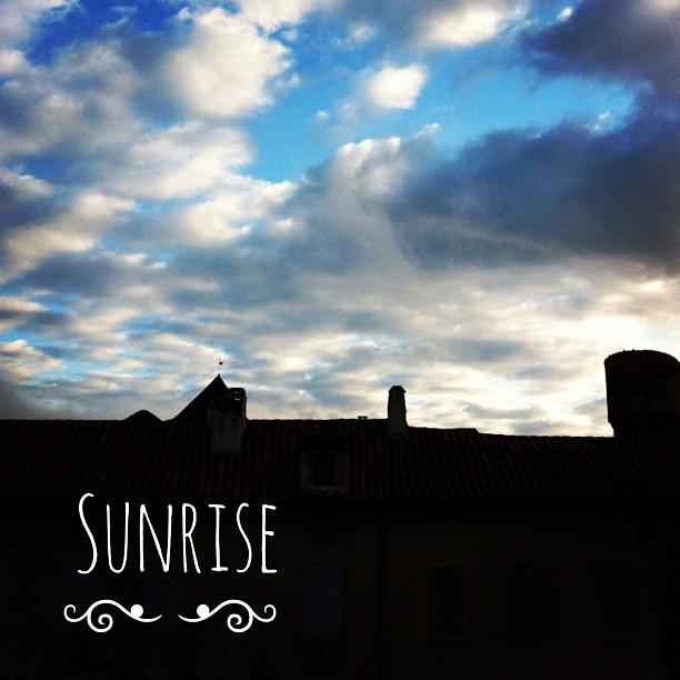 Sunrise, Aveyron