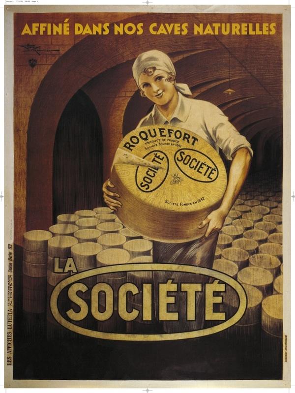 Affiche ancienne Roquefort