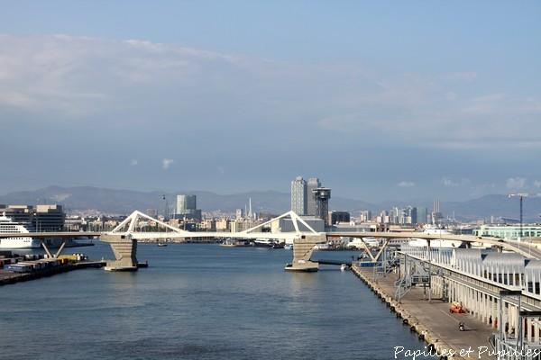 Barcelone = le port