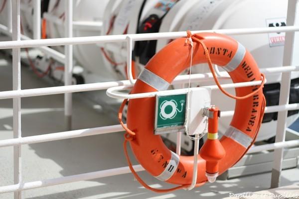 Bouée de sauvetage - Costa Mediterranea
