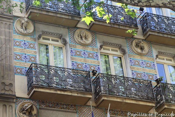 Immeuble - Ramblas - Barcelone