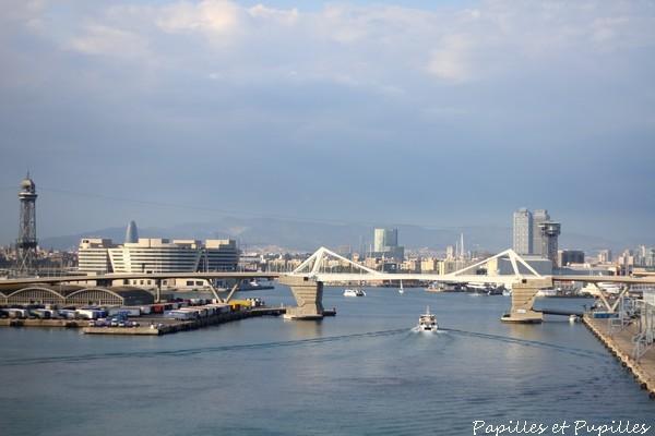 Le port de Barcelone