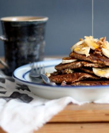 Pancakes Banana Bread sans gluten ©Sarah Britton