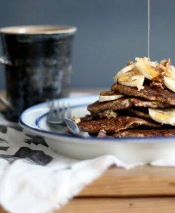 Pancakes bananes chocolat ©MyNewroots