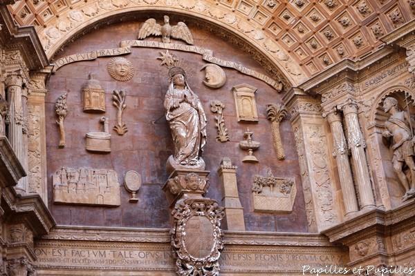 Portail de la Cathédrale, Palma de Majorque