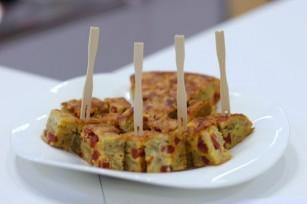 Tortilla aux chips molles et au chorizo