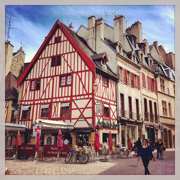 Maison à colombage, Dijon
