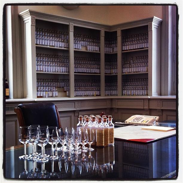 Bureau de dégustation - Hennessy