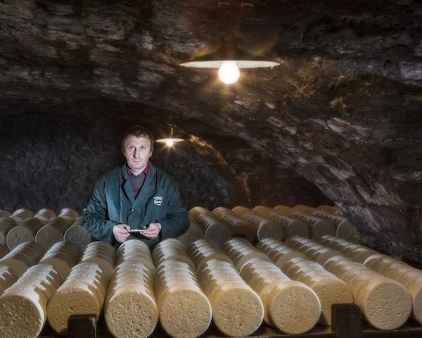 Dans les caves de Roquefort Société © Manuel huynn