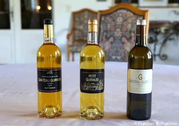 Les vins de Château Guiraud