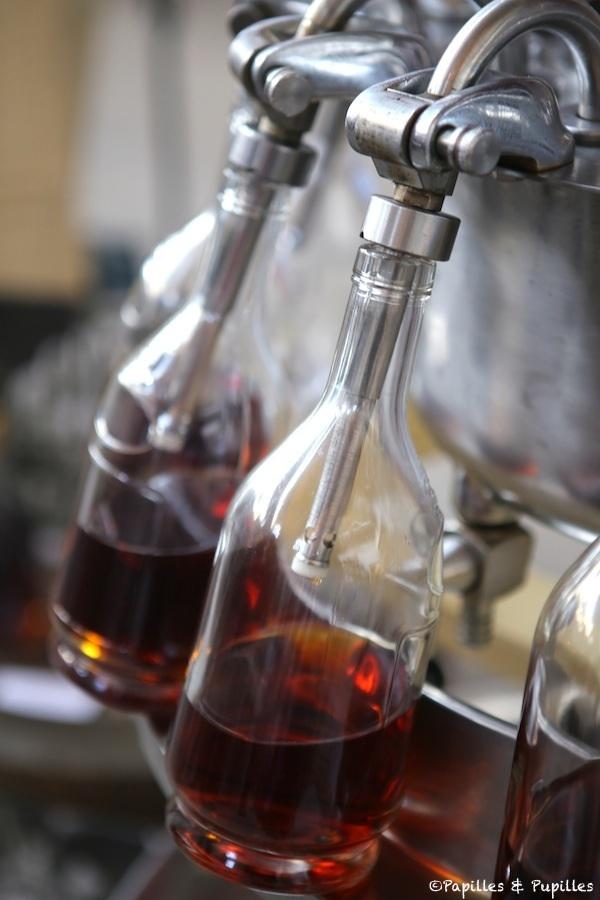 Mise en bouteille du Cognac