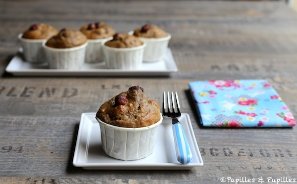 Muffins Danette expresso noisettes