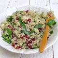Salade de quinoa à la féta et à la grenade