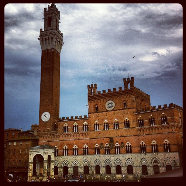 Palazzo pubblico, Sienne, Italie