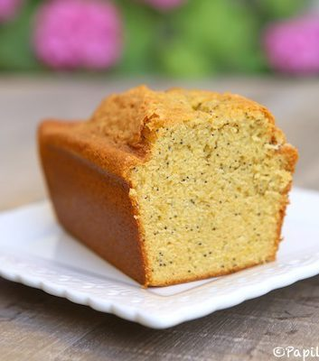 Cake au citron et aux grains de pavot