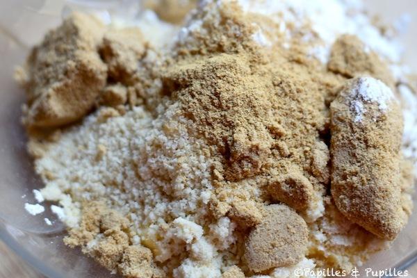 Ingrédients de la pâte à crumble