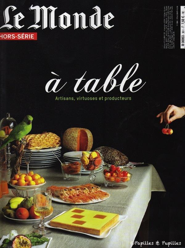 Le monde - A table