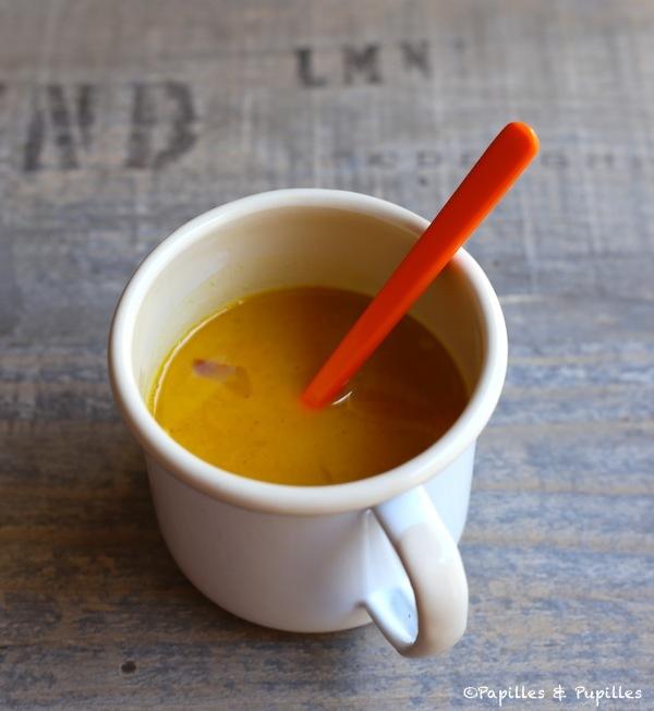 Sauce à l'orange réduite