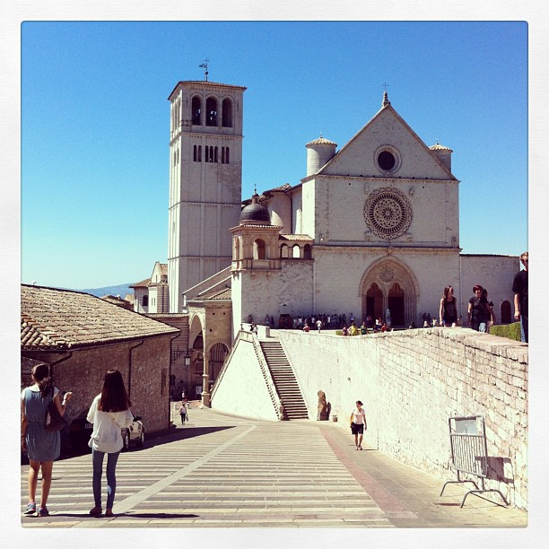 Basilique Saint François à Assise, Italie - peut être les plus belles peintures que j ai jamais vues #exceptionnel