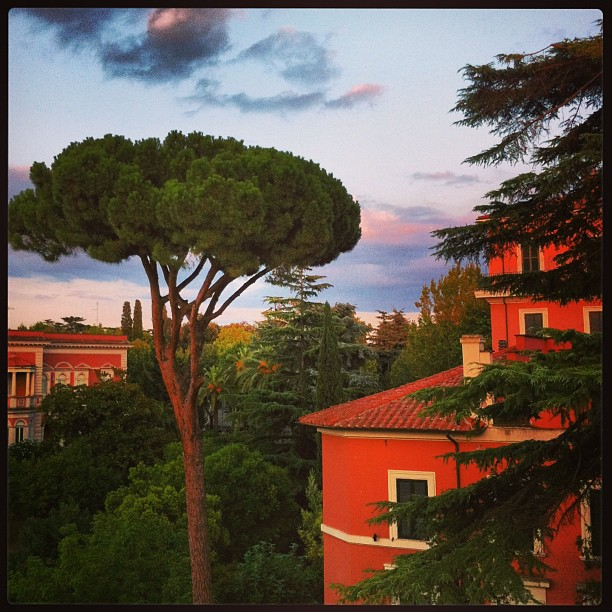 Sunset, Rome