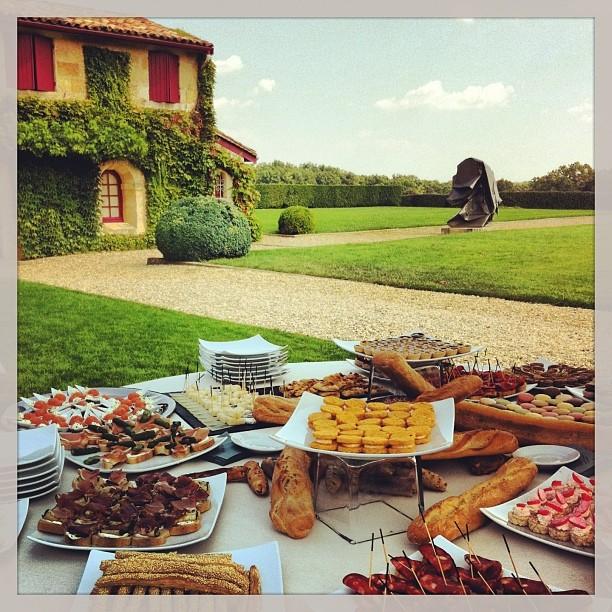 Déjeuner champêtre à Château Smith Haut Lafitte