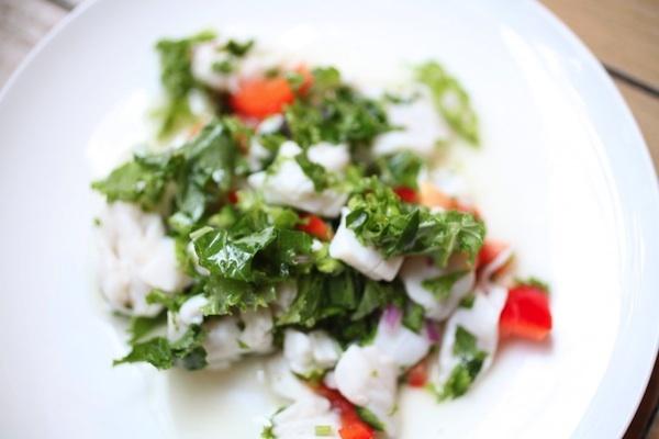 Kale Ceviche ©Kristen Beddard