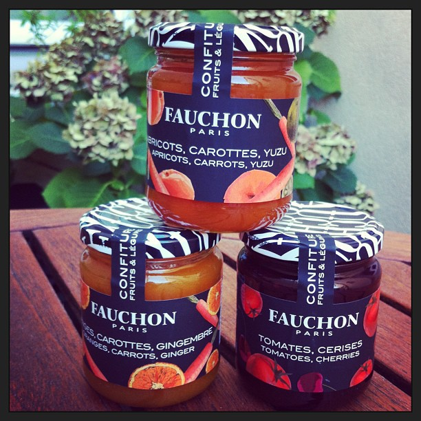 Nouvelles confitures Fauchon