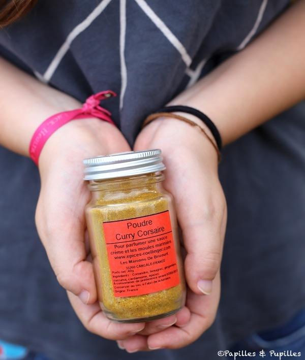 Poudre Curry Corsaire Roellinger