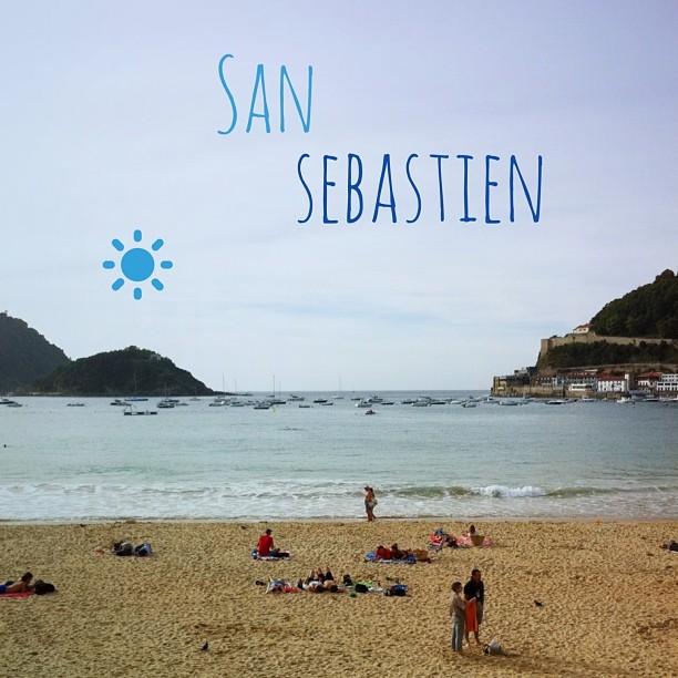 Donostia / San Sebastian - la plage