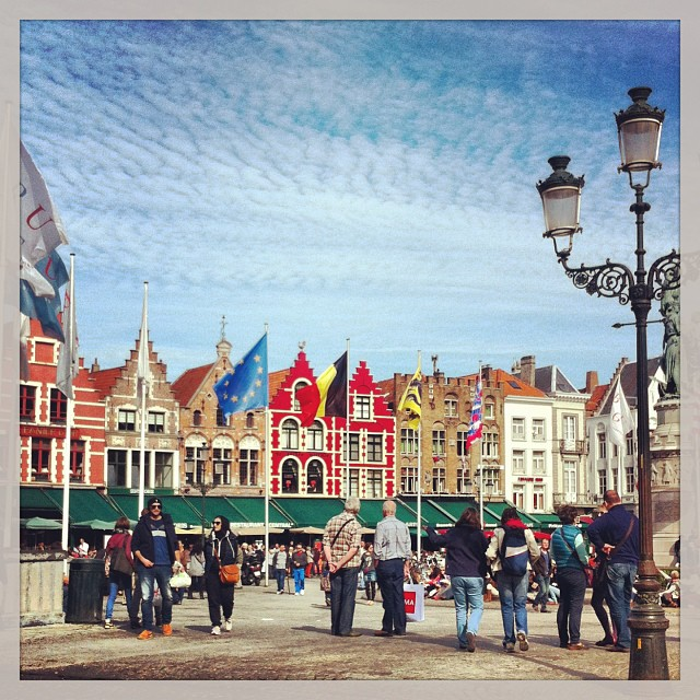 Grand place - Bruges