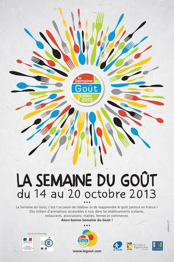 Affiche semaine du goût 2013