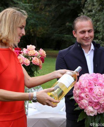 Baptême de la rose Demoiselles de Larrivet Haut-Brion