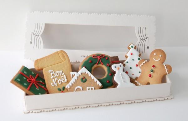 Biscuits de no l chez bogato for Maison en biscuit de noel