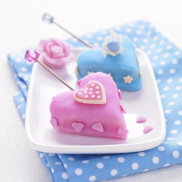 Cakes pops de la Saint Valentin
