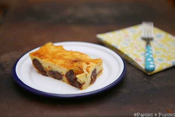 Far breton dans l'assiette