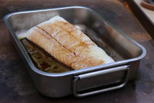 Filet de cabillaud avant cuisson