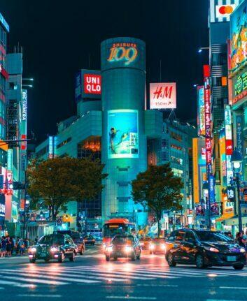 Shibuya ©Jezael Melgoza on Unsplash