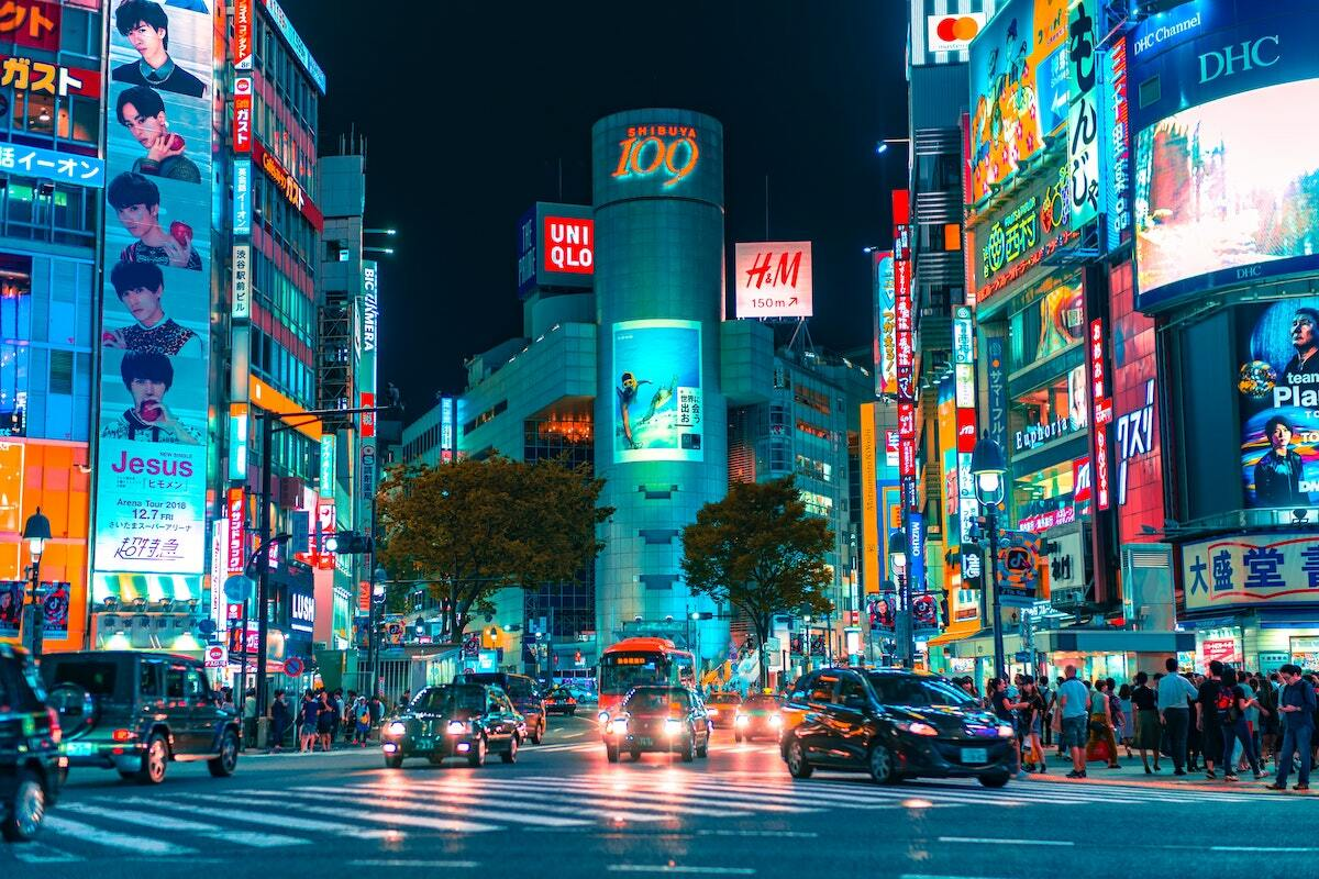 Shibuya ©Jezael Melgoza on Unsplash