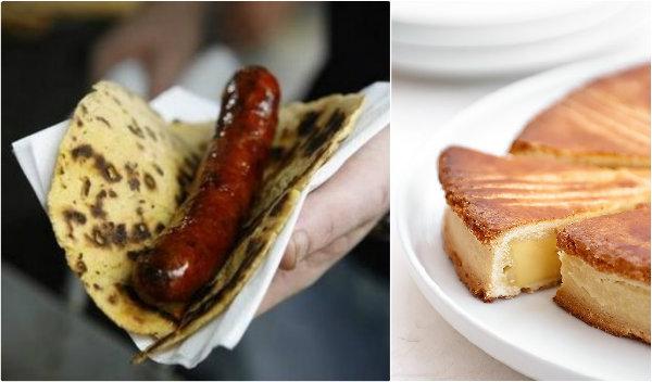 Taloa et Gâteau basque